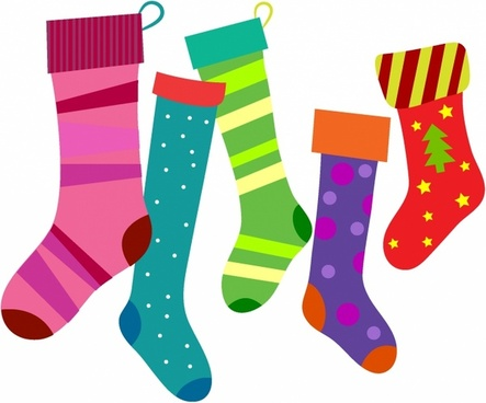 443x368 Christmas Stocking Vector Free Vector Download (7,401 Free Vector