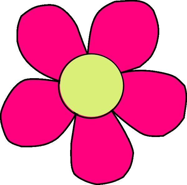 600x594 Flower Clip Art