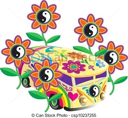 450x415 Flower Power Clip Art Hippie Flower Power Clip Art Hippie Art Free