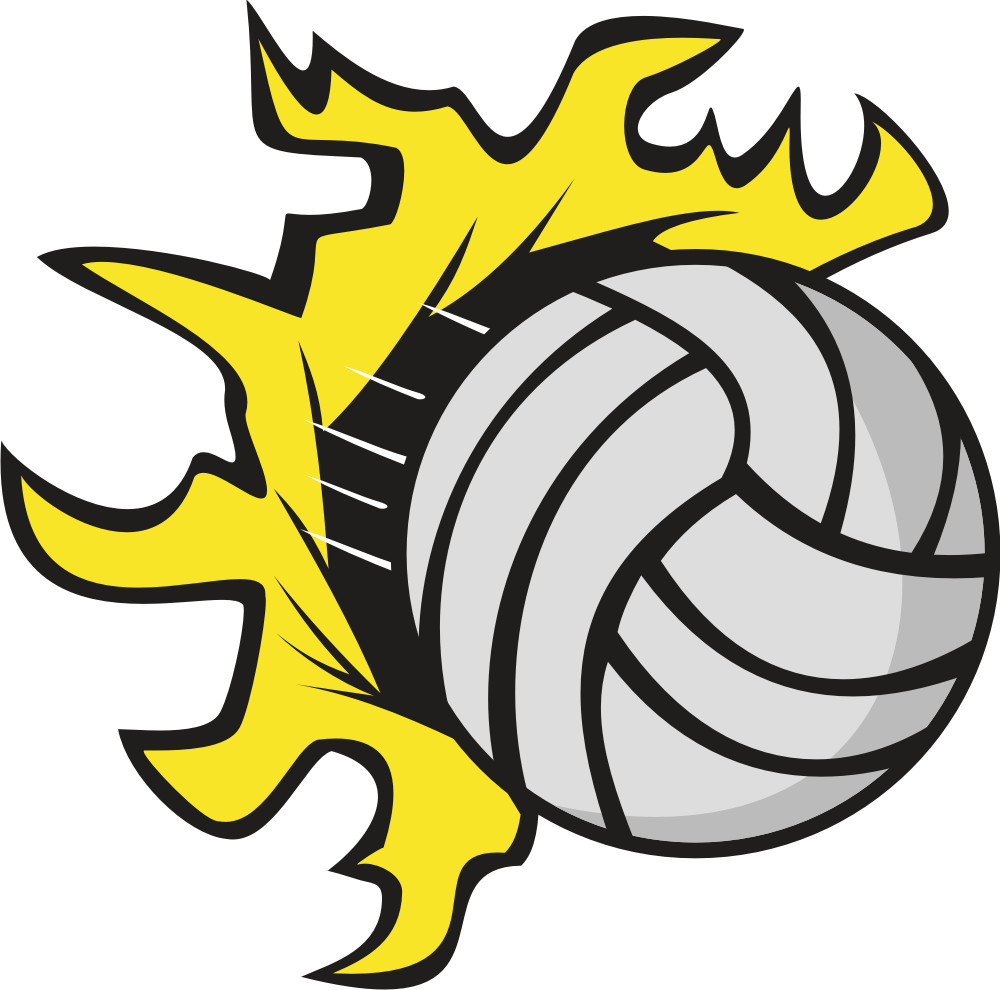 1000x990 Volleyball Clipart Designs