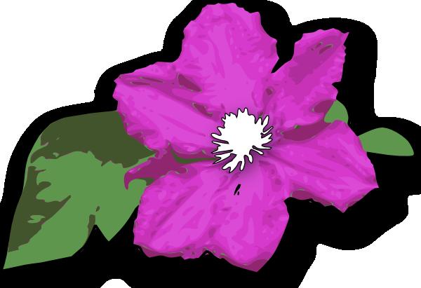 600x411 Flower Clip Art Free Vector 4vector
