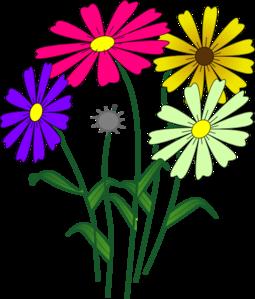 255x299 Flowers Clip Art