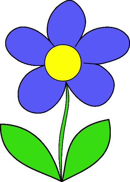 426x596 Cartoon Flowers Clip Art Simple Flower Clip Art