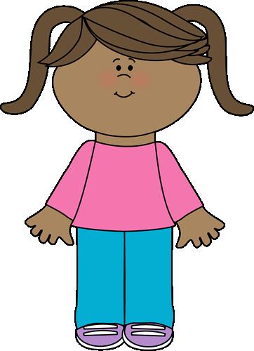 362x500 Cute Little Girl Yay Cute Free Clip Art! Tot School Activities