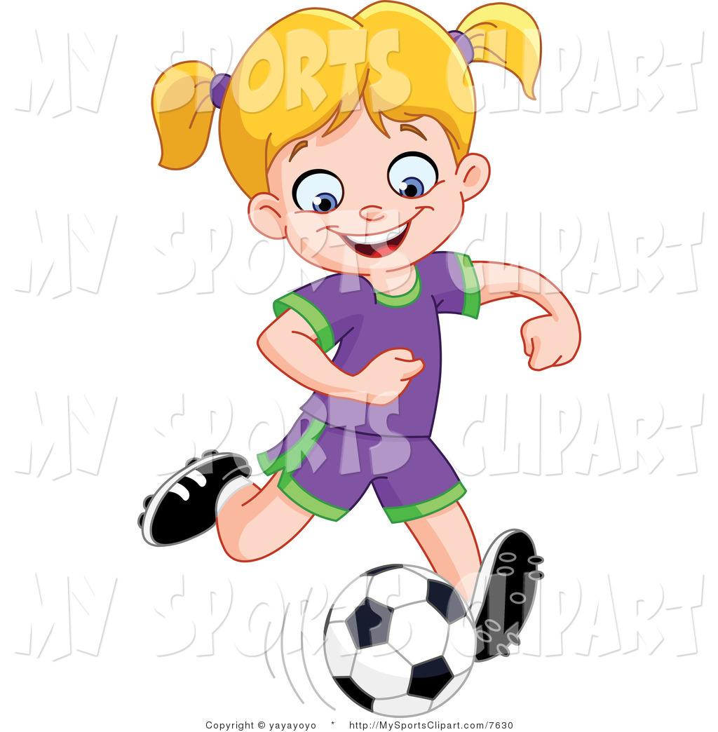1024x1044 Girl Kicking Soccer Ball Clip Art Clipart Panda