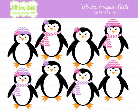 570x456 Girl Penguin Clip Art Space Clipart
