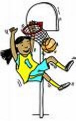 150x239 Pretty Looking Girls Basketball Clip Art Sumptuous Design Ideas
