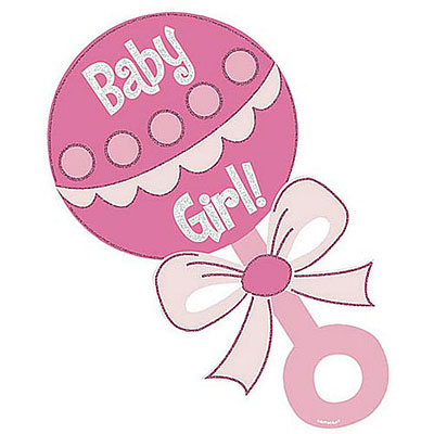 400x400 Free Clipart For Baby Girl Shower