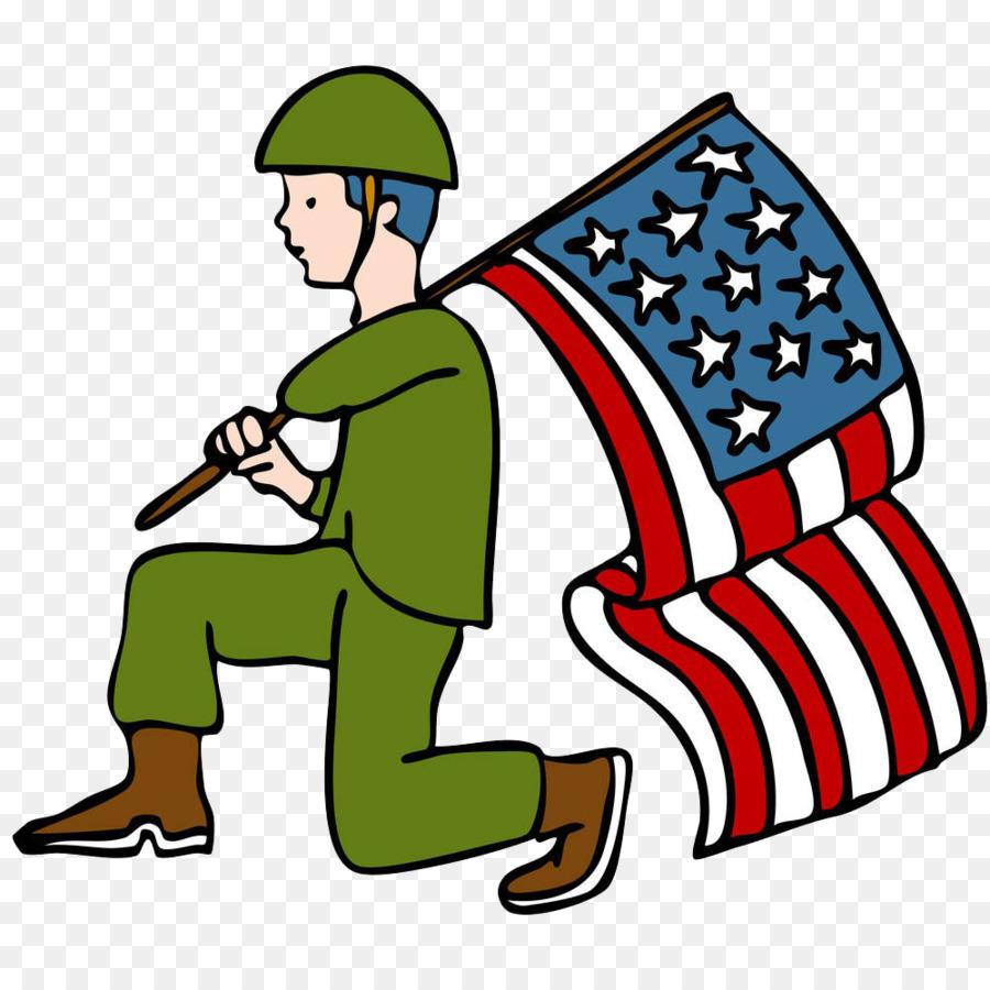 900x900 Veterans Day Parade Soldier Clip Art
