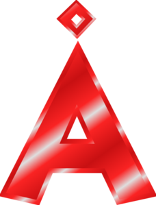 228x299 Effect Letters Alphabet Red Clip Art