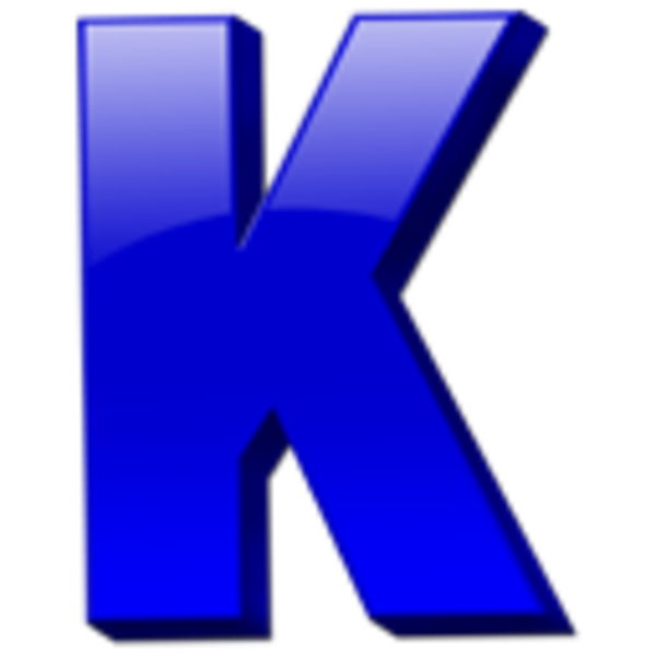 600x600 Letter K Icon Free Images