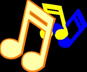 299x246 Musical Notes Clip Art