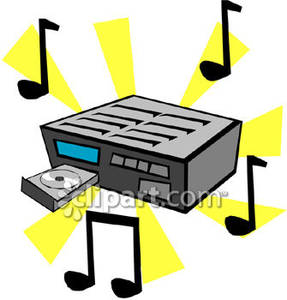 287x300 Cd Player And Music Notes