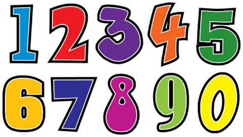 Free Clipart Numbers
