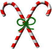 172x163 Free Candy Cane Clipart