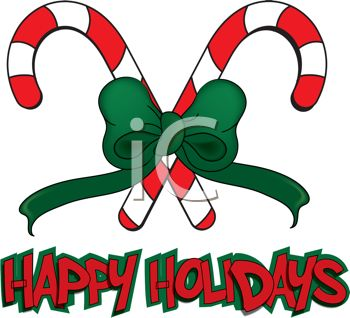 350x318 Picture Of Two Criss Crossed Candy Canes Green Bow