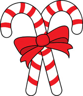 169x195 Pictures Of Candy Canes Clipart Candy Cane Free Clipart Two Candy