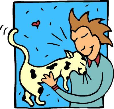 400x383 Cat Clipart Pat