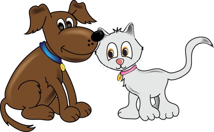 690x425 Cartoon Cat And Dog Pictures With Captions Cartoon Cat And Dog