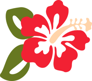 Free Clipart Of Hawaiian Flowers