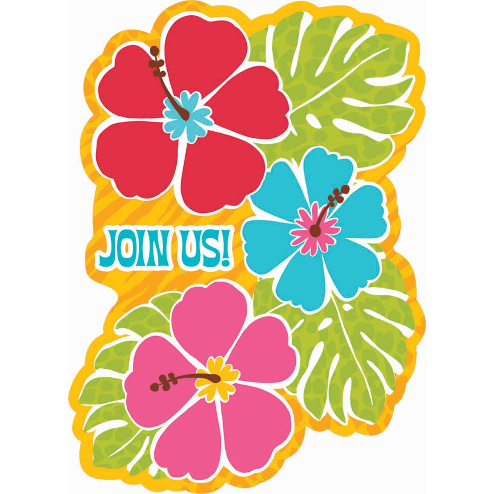 1600x1600 Hawaiian Luau Clip Art Free Clipart Images