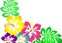 200x140 Hawaiian Flower Clipart Hawaiian Flower Clip Art Borders Clipart