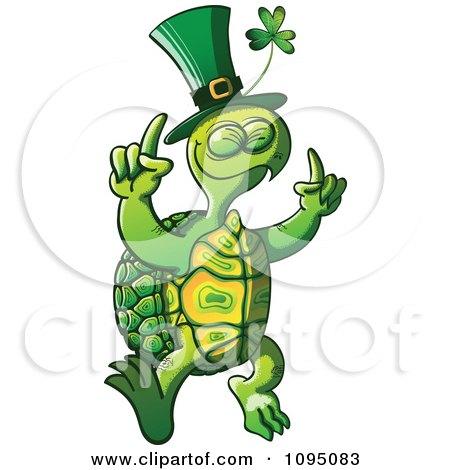 450x470 Clipart St Patricks Day Tortoise Dancing