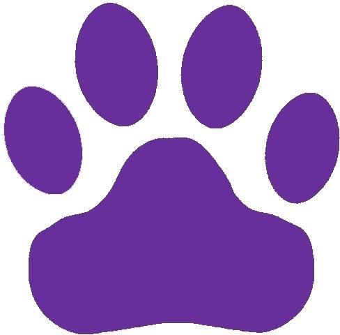 488x480 Paw Print Free Clip Art Purple Paw Print Clip Art Purple Paw Print