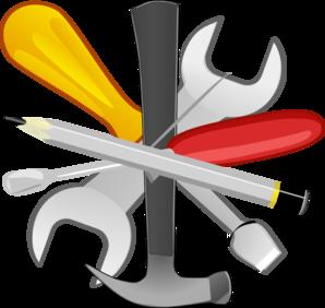 298x282 5 Tools Clip Art