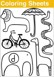 180x256 Free Coloring Sheets Over