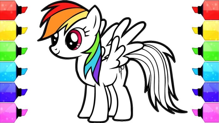 700x394 My Little Pony Coloring Books Find Here