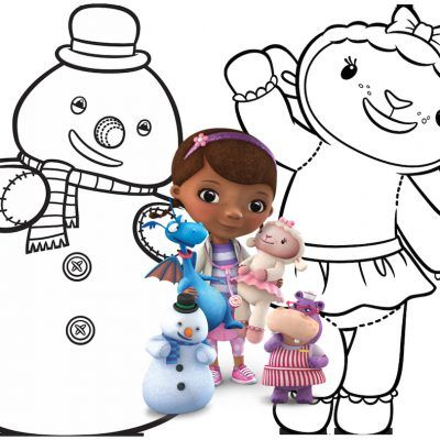 400x400 Free Printable Doc Mcstuffins Coloring Pages And Activity Sheets