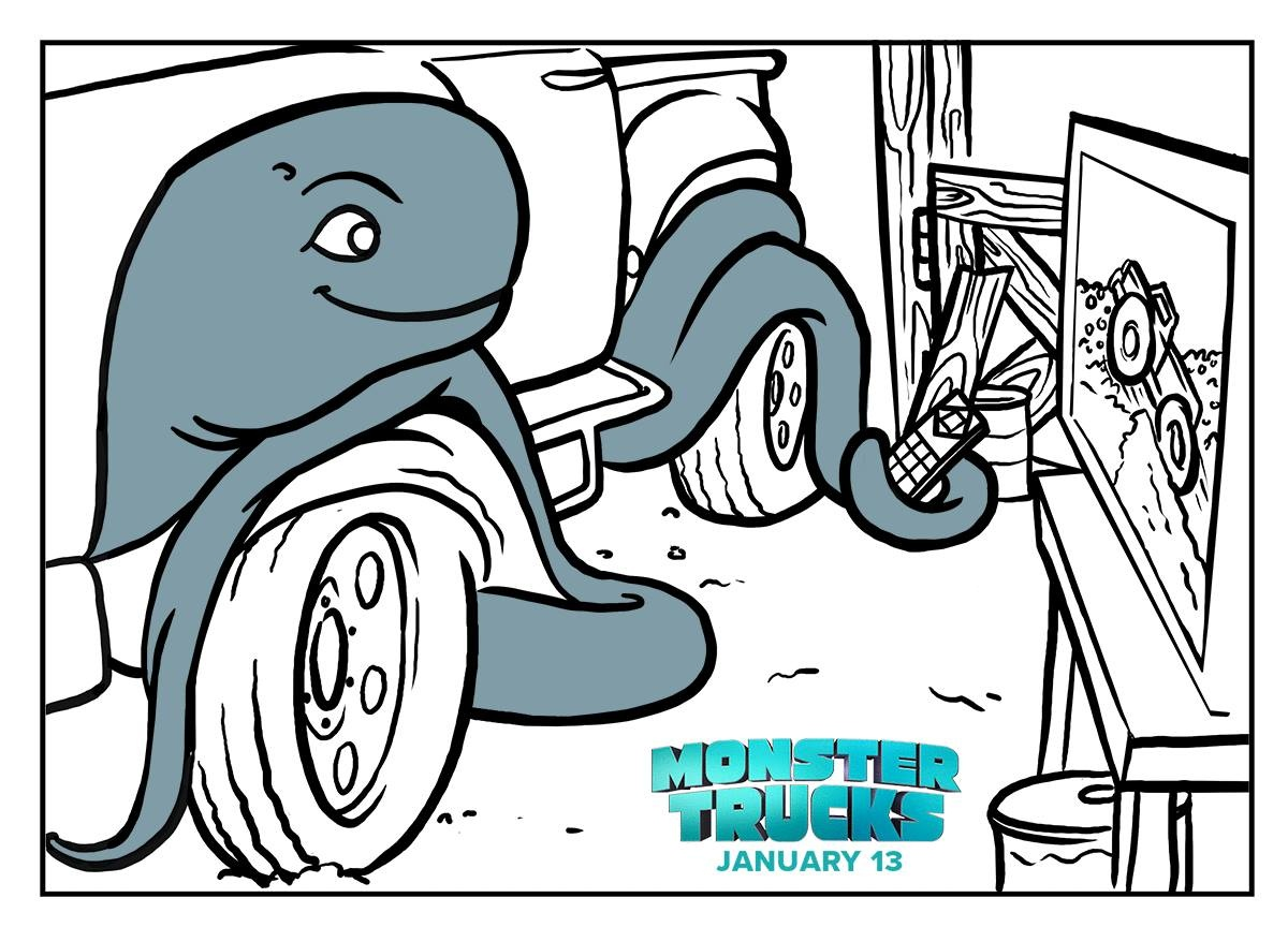 1200x864 Fresh Monster Trucks Printable Coloring Page Free Coloring Pages