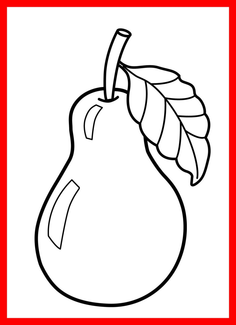 908x1248 Terrific Printable Fruit Pictures Free Coloring Pages For Kids