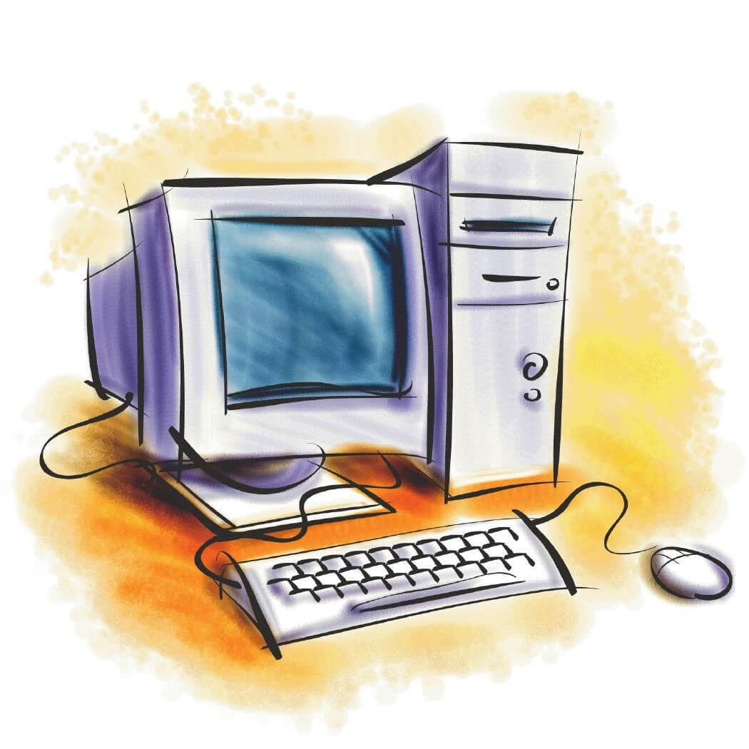 1050x1050 Computer Clipart Images Free Download