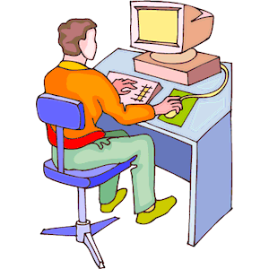 300x300 People Using Computer Clipart Amp People Using Computer Clip Art