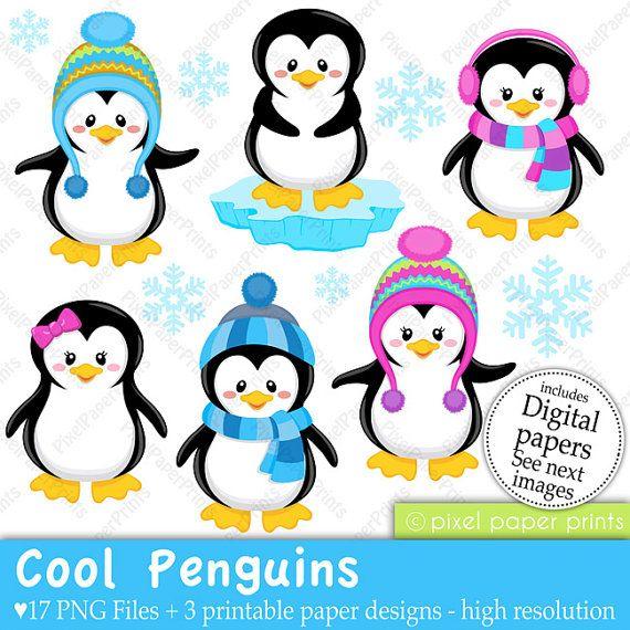 570x570 Cool Penguins