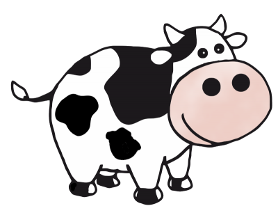 400x306 Cow Clipart Clipartaz Free Clipart Collection