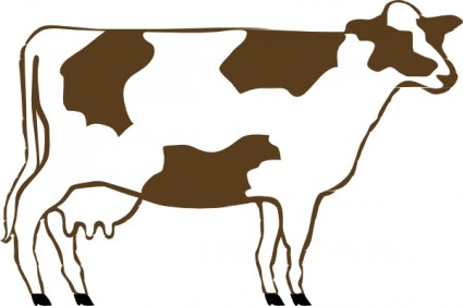 425x281 Cow Clip Art Free Vector In Open Office Drawing Svg Svg 3