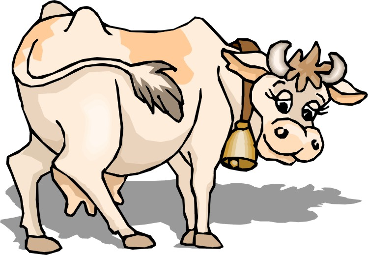 749x519 Cow Images For Kids Cow Clipart Easy Pencil And In Color Cow