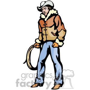Free Cowboy Clipart