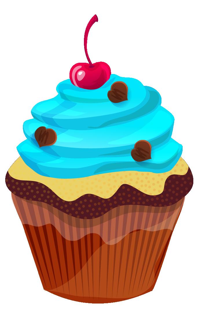 698x1107 Cupcake Clipart Free Download Clipart Panda