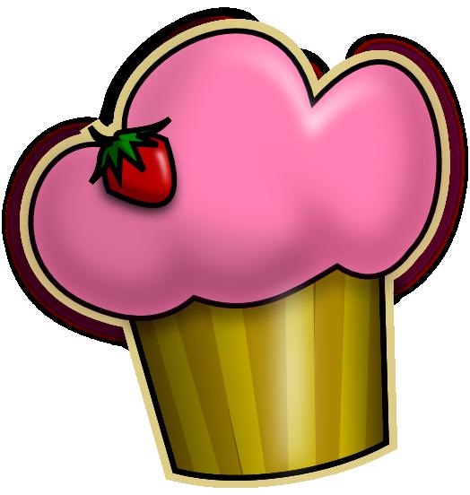 524x552 Cupcake Clip Art Is Free Clipart Panda