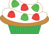 200x140 Cupcake Clipart Vector Art Vector Pink Cupcake Clipart Drawing