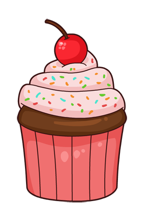 286x429 Free Cupcake Clipart Free To Use Public Domain Cupcake Clip Art