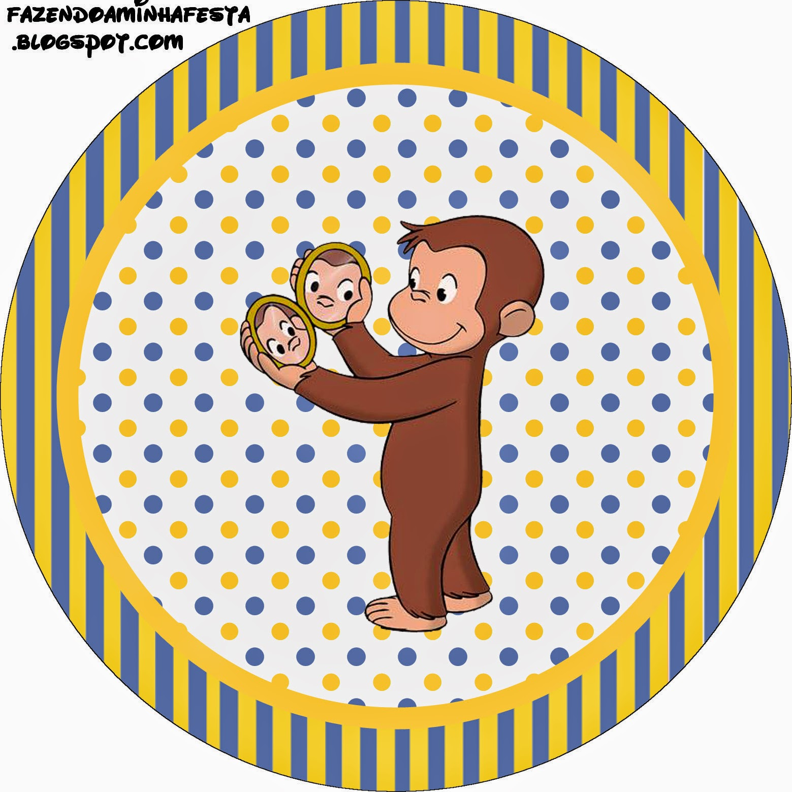 1559x1559 Curious George Free Printable Candy Bar Labels. Oh My Fiesta!