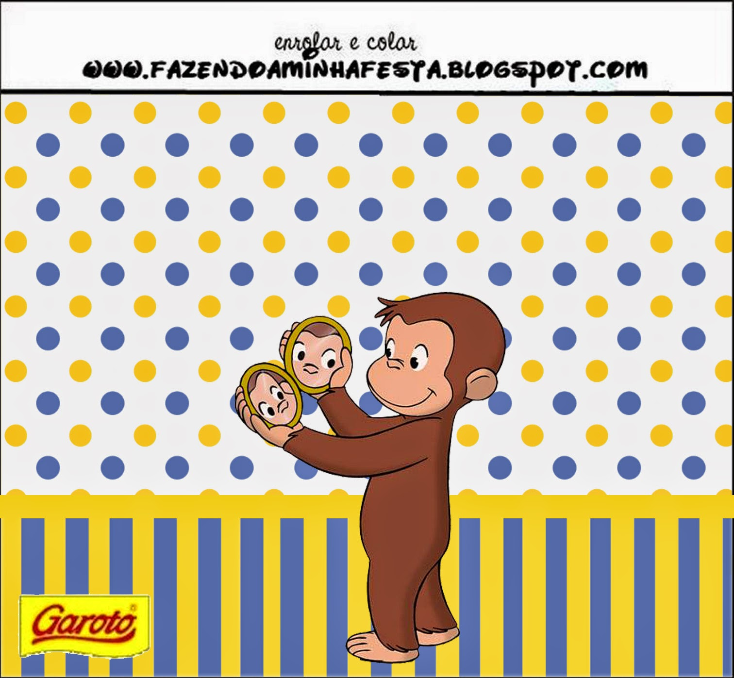 1512x1397 Curious George Free Printable Candy Bar Labels. Oh My Fiesta