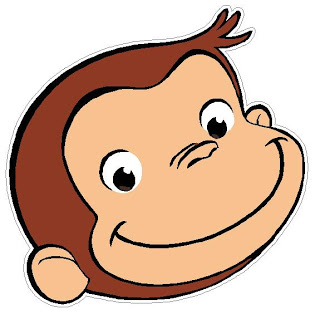 320x314 Collection Of Curious George Face Clipart High Quality, Free
