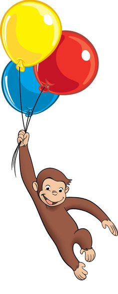 236x586 Curious George Party Favors Bookmark Birthday Party Pbs