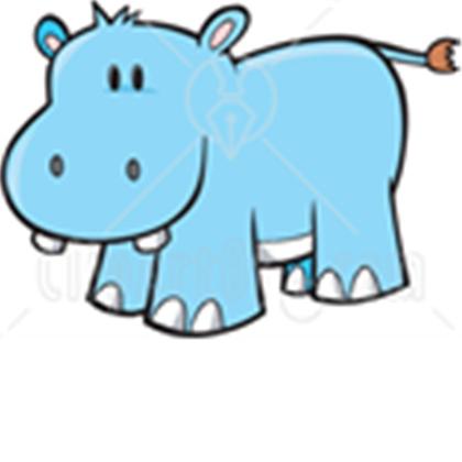 420x420 Free Clip Art Hippopotamus Clipart Panda